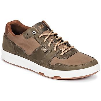 Schoenen Heren Lage sneakers Caterpillar LINE UP CANVAS Bruin