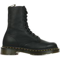 Schoenen Dames Laarzen Dr Martens 1490 Black Virginia Zwart
