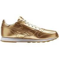 Schoenen Kinderen Lage sneakers Reebok Sport Classic Leather Metallic Brass Goud