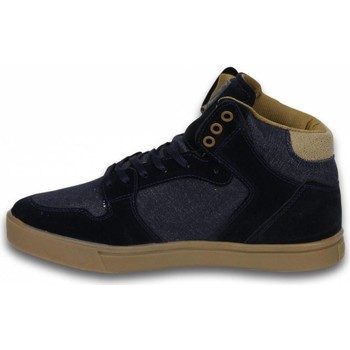 Schoenen Heren Hoge sneakers Cash Money High Denim Blauw