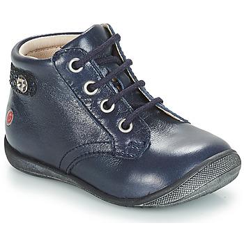 Schoenen Meisjes Laarzen GBB NICOLE Blauw