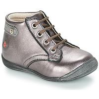 Schoenen Meisjes Laarzen GBB NICOLE Violet / Metaal