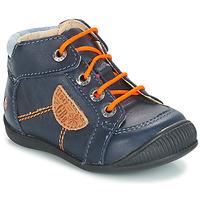 Schoenen Jongens Laarzen GBB RACINE Vtc / Blauw / Dpf / Raiza
