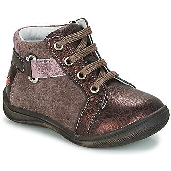 Schoenen Meisjes Laarzen GBB RICHARDINE Bruin / Brons