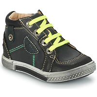 Schoenen Jongens Hoge laarzen GBB RAYMOND Ctu / Grijs - zwart / Dpf / Stryke