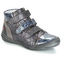 Schoenen Meisjes Hoge sneakers GBB RAFAELE Zilver