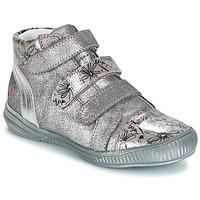 Schoenen Meisjes Laarzen GBB RAFAELE Cvn / Grijs /  argent-imprime / Dpf / Sabina