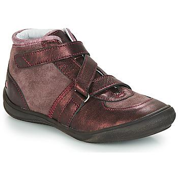 Schoenen Meisjes Hoge sneakers GBB RIQUETTE Bruin / Brons