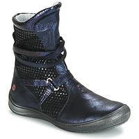 Schoenen Meisjes Hoge laarzen GBB ROSANA Vte / Marine / Dpf / Regina