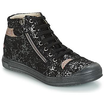 Schoenen Meisjes Laarzen GBB DESTINY Vts / Zwart/ goud / Dpf / Edit