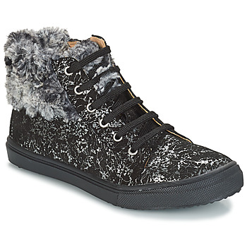 Schoenen Meisjes Hoge sneakers GBB ROBERTA Zwart