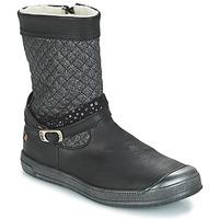 Schoenen Meisjes Hoge laarzen GBB ROLANDE Vts / Zwart / Dch / Edit