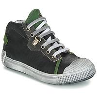 Schoenen Jongens Laarzen GBB RONALD Vte / Zwart - groen / Dpf / Terrore