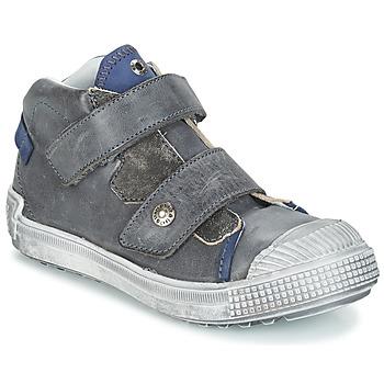 Schoenen Jongens Laarzen GBB ROMULUS Vtu / Grijs-blaus / Dpf / Terrore