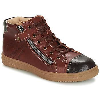 Schoenen Jongens Hoge sneakers GBB NICO Bruin