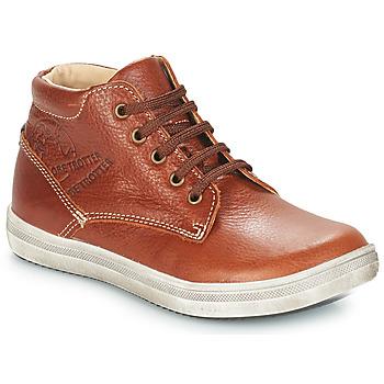 Schoenen Jongens Laarzen GBB NINO Bruin