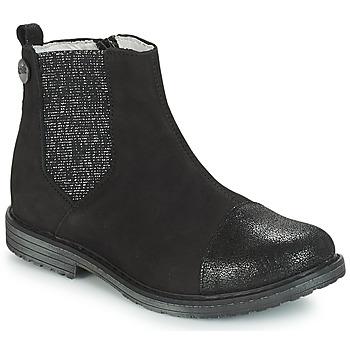 Schoenen Meisjes Laarzen GBB LEONTINA Zwart