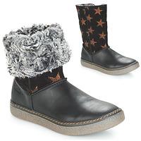 Schoenen Meisjes Hoge laarzen Achile DUBROVNIK Zwart