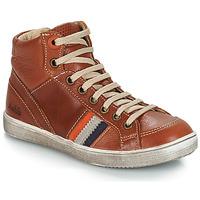 Schoenen Jongens Hoge sneakers GBB ANGELO Bruin