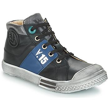 Schoenen Jongens Laarzen GBB RUFINO Zwart