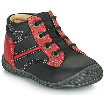 Schoenen Jongens Laarzen Catimini RATON Zwart / Rood