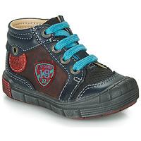 Schoenen Jongens Hoge sneakers Catimini ROCOU Marine / Bordeau