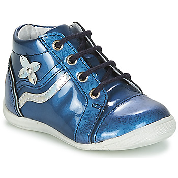 Schoenen Meisjes Laarzen GBB SHINA Vvn /  bleu-imprime / Dpf / Kezia