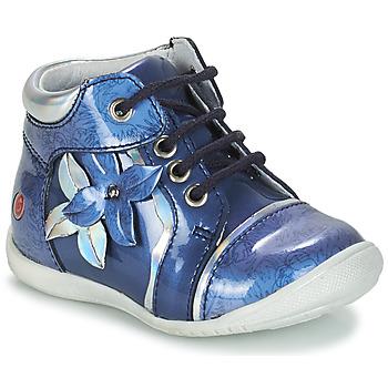Schoenen Meisjes Laarzen GBB SONIA Vvn /  bleu-imprime / Dpf / Kezia