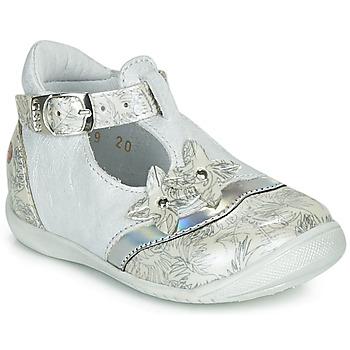 Schoenen Meisjes Sandalen / Open schoenen GBB SELVINA Vtv /  nacre-imprime / Dpf / Kezia