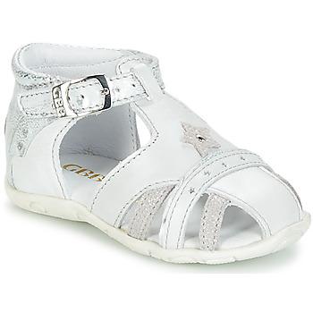 Schoenen Meisjes Sandalen / Open schoenen GBB SUZANNE Wit