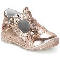 Schoenen Meisjes Ballerina's GBB SIXTINE Roze / Goud
