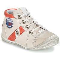 Schoenen Jongens Laarzen GBB SILVIO Beige / Rood