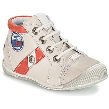 Schoenen Jongens Laarzen GBB SILVIO Vtc / Beige - rood / Dpf / Raiza