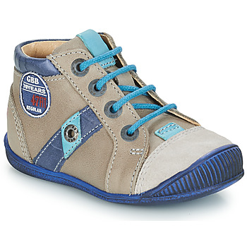 Schoenen Jongens Laarzen GBB SILVIO Vtc /  taupe-bleu / Dpf / Raiza