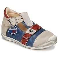 Schoenen Jongens Sandalen / Open schoenen GBB STANISLAS Marine / Beige / Rood