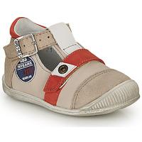 Schoenen Jongens Sandalen / Open schoenen GBB STANISLAS Beige / Rood