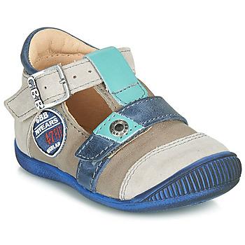Schoenen Jongens Sandalen / Open schoenen GBB STANISLAS Blauw