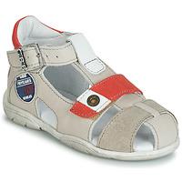 Schoenen Jongens Sandalen / Open schoenen GBB SULLIVAN Beige / Rood