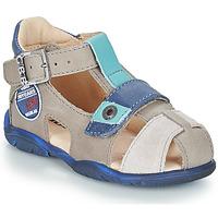 Schoenen Jongens Sandalen / Open schoenen GBB SULLIVAN Grijs / Blauw