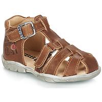 Schoenen Jongens Sandalen / Open schoenen GBB PRIGENT Bruin