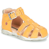 Schoenen Jongens Sandalen / Open schoenen GBB PRIGENT Geel