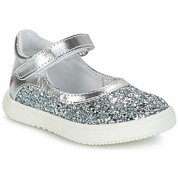 Schoenen Meisjes Laarzen GBB SAKURA Zilver