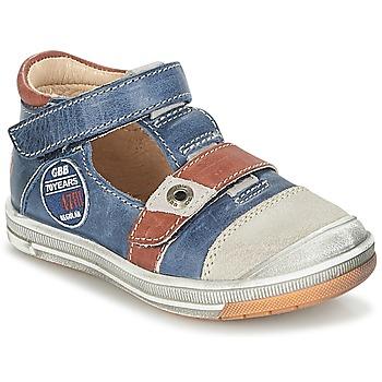 Schoenen Jongens Sandalen / Open schoenen GBB SOREL Marine / Bruin