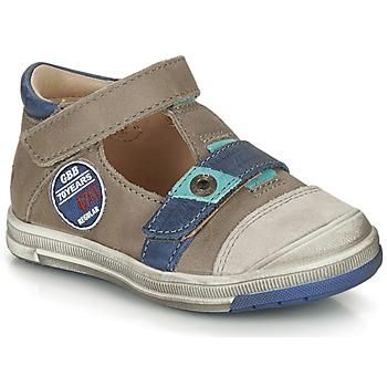 Schoenen Jongens Sandalen / Open schoenen GBB SOREL Taupe / Blauw