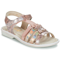 Schoenen Meisjes Sandalen / Open schoenen GBB SCARLET Vtv /  rose-imprime / Dpf / Nicla