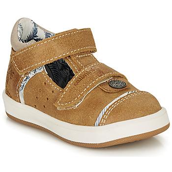Schoenen Jongens Sandalen / Open schoenen Catimini SAUTERIAU Bruin