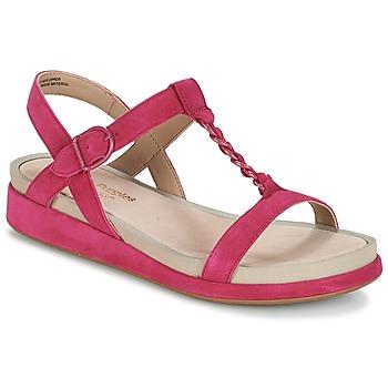 Schoenen Dames Sandalen / Open schoenen Hush puppies CHAIN T Framboos