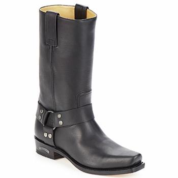 Schoenen Heren Hoge laarzen Sendra boots EDDY Zwart