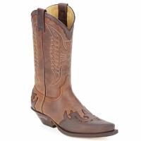 Schoenen Hoge laarzen Sendra boots DAVIS Bruin