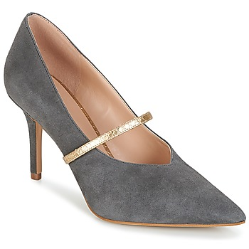 Schoenen Dames pumps KG by Kurt Geiger V-CUT-MID-COURT-WITH-STRAP-GREY Grijs